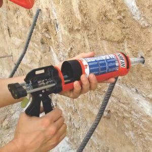 Promotie ancore chimice Alsafix VI100 PRO - 12 tuburi de 400 ml + 1 pistol manual de injecție 400 ml